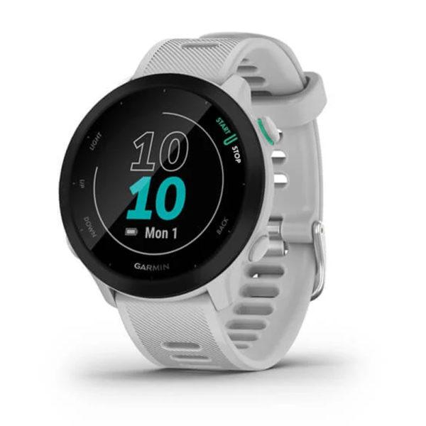 Garmin Forerunner 55 HRM Running Watch white