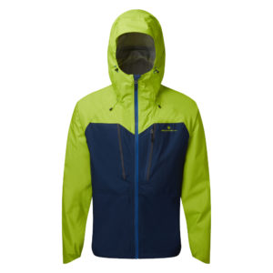 Ronhill Tech Fortify Men's Running Jacket navy citrus front