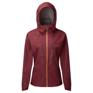 Ronhill Tech Fortify Women's Running Jacket cabernet front