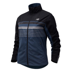 New Balance Accelerate Protect Reflective Women's Running Jacket front