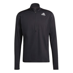 Adidas Own The Run Half Zip Long Sleeve Men' black front