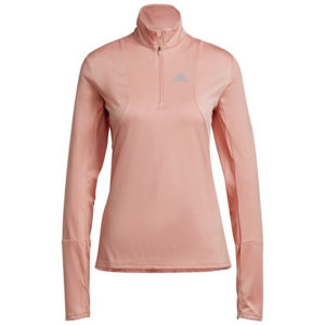 Adidas Own The Run Half Zip Long Sleeve Women's ambient front