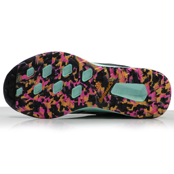 adidas Terrex Two Flow Women's Trail Shoe clear mint sole