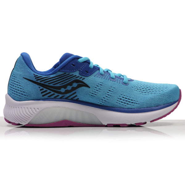 Saucony Guide 14 Women's Running Shoe blue blaze back