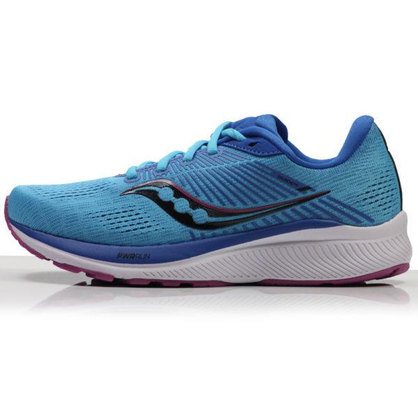 Saucony Guide 14 Women's Running Shoe blue blaze side