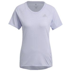 adidas Runner Short Sleeve Women's violet front