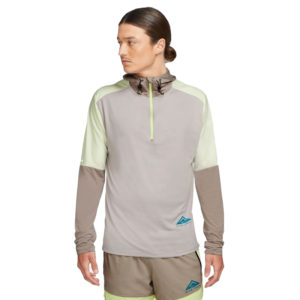 Nike Dri-Fit Trail Element Half Zip Men's Running Top Front