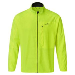 Ronhill Core Men's Running Jacket yellow black front