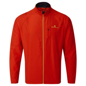 Ronhill Core Men's Running Jacket flame front