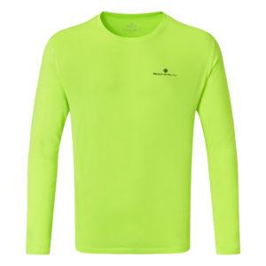Ronhill Core Long Sleeve Men's Running Tee yellow front