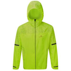 Ronhill Life Nightrunner Men's Running Jacket yellow front
