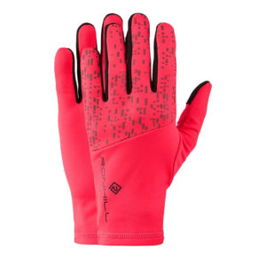 Ronhill Nightrunner Glove hot pink